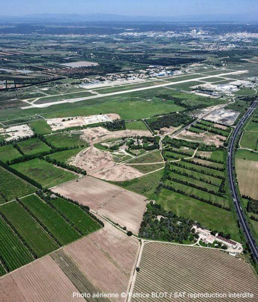 Actiparc Mitra - vue aérienne