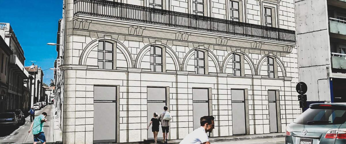 Ancien Hôtel de Paris - Façade projet après travaux