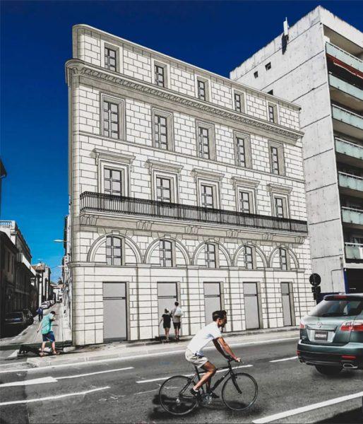 Ancien Hôtel de Paris - projet façade