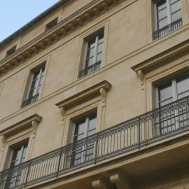 Ancien Hôtel de Paris - Façade