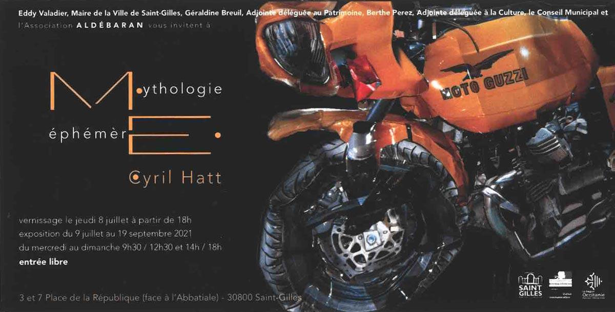 Mythologie éphémère - Cyril Hatt