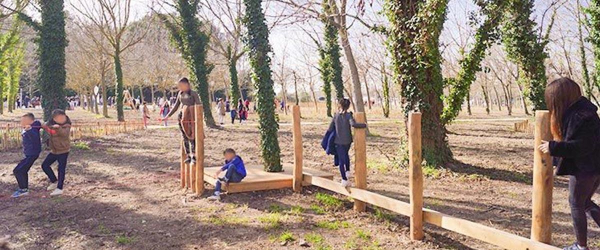 inauguration du bois des noyers
