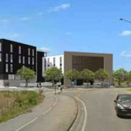 Projet du nouvel immeuble